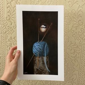 'Knit 1' print by Eileen Sorg